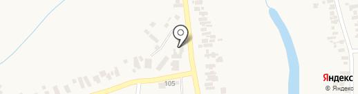 Почтовое отделение связи на карте Великодолинского