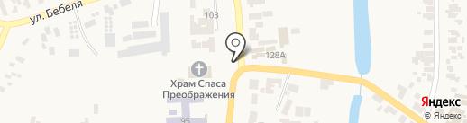 Банкомат, АБ Південний, ПАТ на карте Великодолинского