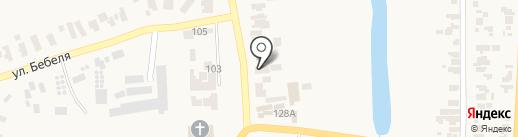 Банкомат, КБ ПриватБанк на карте Великодолинского