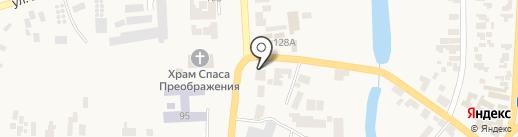 Магазин канцтоваров на карте Великодолинского
