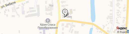Арианна на карте Великодолинского