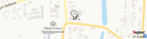 Ліон на карте Великодолинского
