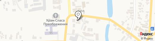 Колиба на карте Великодолинского