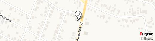 Автодушик на карте Великодолинского