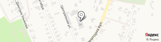 Хаджибей Груп на карте Холодной Балки