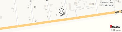 Магазин фастфудной продукции на карте Хлебодарского