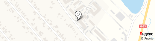 Ощадбанк, ПАТ на карте Новой Долины