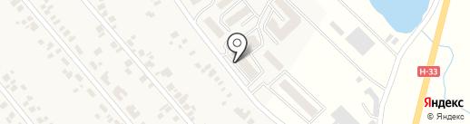 Карате Симмей-до, Киокушин на карте Новой Долины