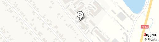 Озерки-сервис на карте Новой Долины