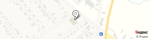 Участковый пункт полиции на карте Новой Долины