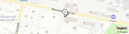Отдел надзорной деятельности и профилактической работы Колпинского района на карте Санкт-Петербурга