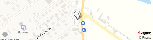 Сеть аптек на карте Новой Долины