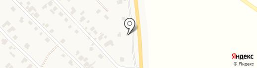 Магазин автотоваров на карте Новой Долины