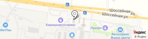 Эко-Балт, ЗАО на карте Янино 1