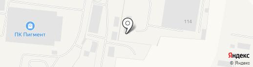 МОСТ на карте Янино 1
