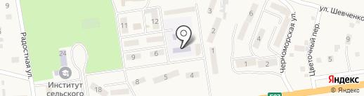 Берізка на карте Хлебодарского