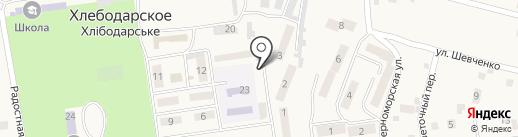 Наша Ряба на карте Хлебодарского