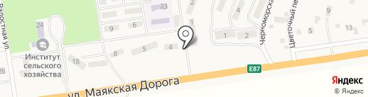 Магазин аксессуаров к мобильным телефонам и канцтоваров на карте Хлебодарского