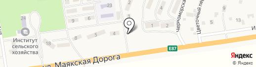 NCN на карте Хлебодарского