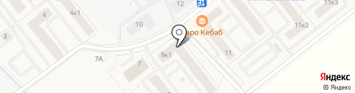 Петербургская недвижимость на карте Янино 1