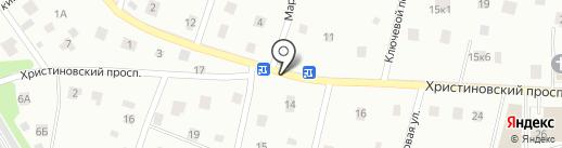 Шиномонтажная мастерская на карте Всеволожска