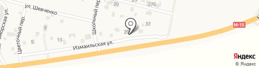 СТО на карте Хлебодарского