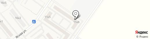Ясно. Янино на карте Янино 1