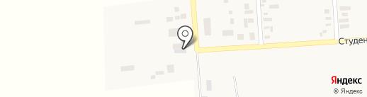 Участковый пункт полиции на карте Молодёжного