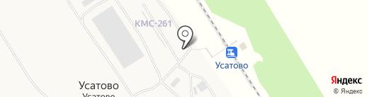 Гранресурсы на карте Усатово