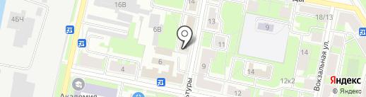 Отдел Военного комиссариата г. Санкт-Петербурга на карте Санкт-Петербурга