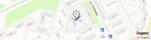 Детский сад №10 на карте Всеволожска