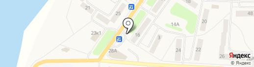 Магазин фруктов и овощей на ул. Тельмана пос на карте Тельманы