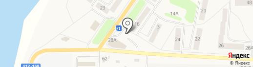 Магазин хлебобулочных изделий на ул. Тельмана пос на карте Тельманы