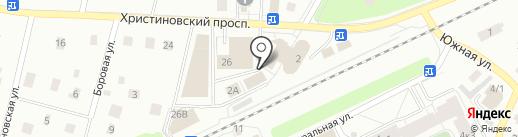 Магазин женской одежды и постельного белья на карте Всеволожска