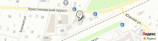 Комиссионный магазин на карте Всеволожска