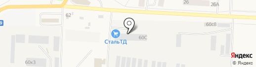 КОМПАНИЯ СТАЛЬТД на карте Тельманы