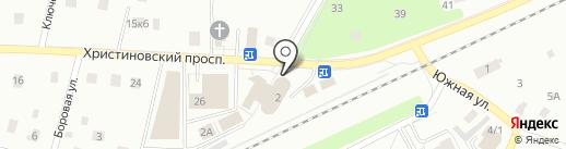 Магазин автозапчастей на карте Всеволожска