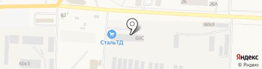 ЦСИ на карте Тельманы