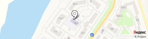 Детский сад №14 на карте Тельманы