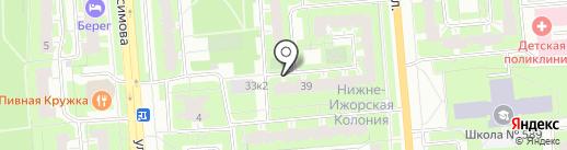 Надежда, ТСЖ на карте Санкт-Петербурга
