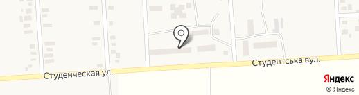 Фельдшерско-акушерский пункт на карте Молодёжного