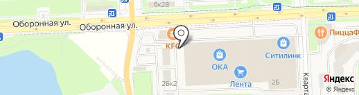 SVM на карте Тельманы