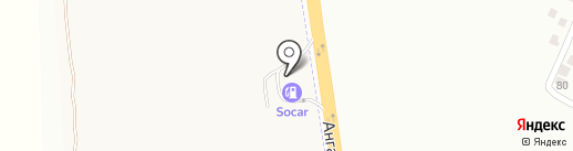 Socar на карте Авангарда