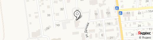 Библиотека на карте Авангарда