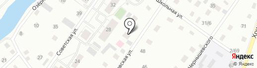 Опека на карте Всеволожска