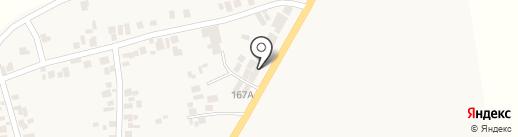 Магазин автотоваров на карте Прилиманского