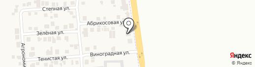 Магазин запчастей для автобусов на карте Авангарда