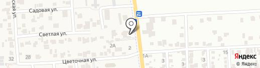 Автомойка на карте Авангарда