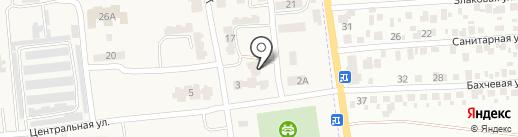 Почтовое отделение связи на карте Авангарда