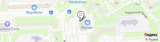 Подземный паркинг на карте Тельманы
